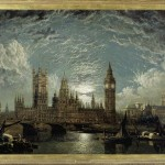 John Anderson, Westminster Bridge, Houses of Parliament seen fro